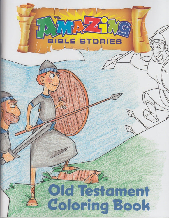 Amazing Bible Stories Coloring Book Old Testament
