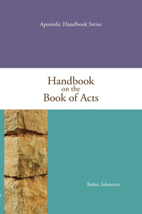 Handbook on the Book of Acts Paperback