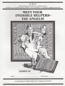 Accelerated Bible Curriculum - Meet Your Invisible Helper - Volume 20
