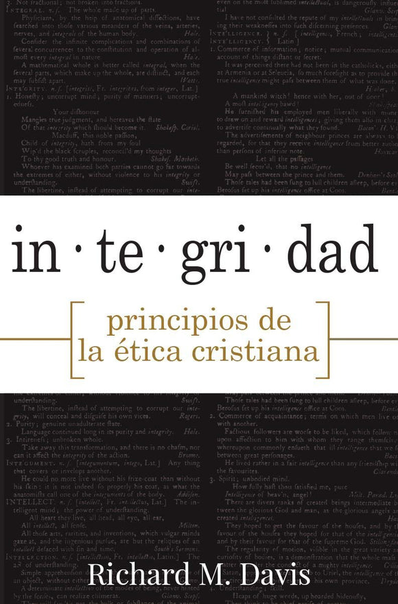 Integrity Principles of Christian Ethics (Spanish)