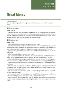 Great Mercy Lesson 11 Adult Spring 2021 (Download)