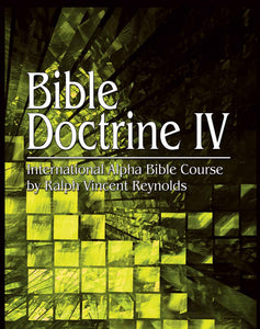 Bible Doctrine 4 - Alpha Bible Course (eBook)