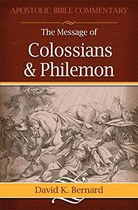 Message of Colossians & Philemon (eBook)