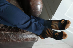 Short Compression Copper Socks
