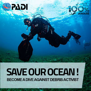 PADI Dive Against Debris