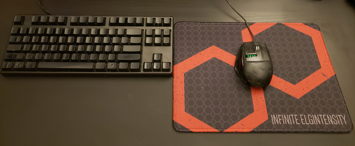 Infinite Elgintensity Mouse Pad