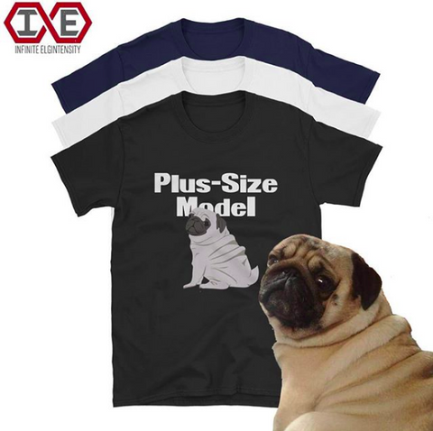 Plus-Size Model T-shirt