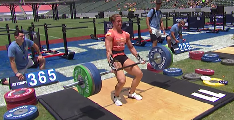 2014 CrossFit Games deadlift fail