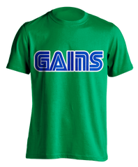 Chaos Emerald (Kelly green) GAINS T-shirt