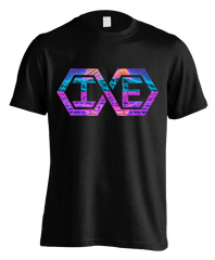 "black ""Infinite Elgintensity Retro Logo"" T-shirt"