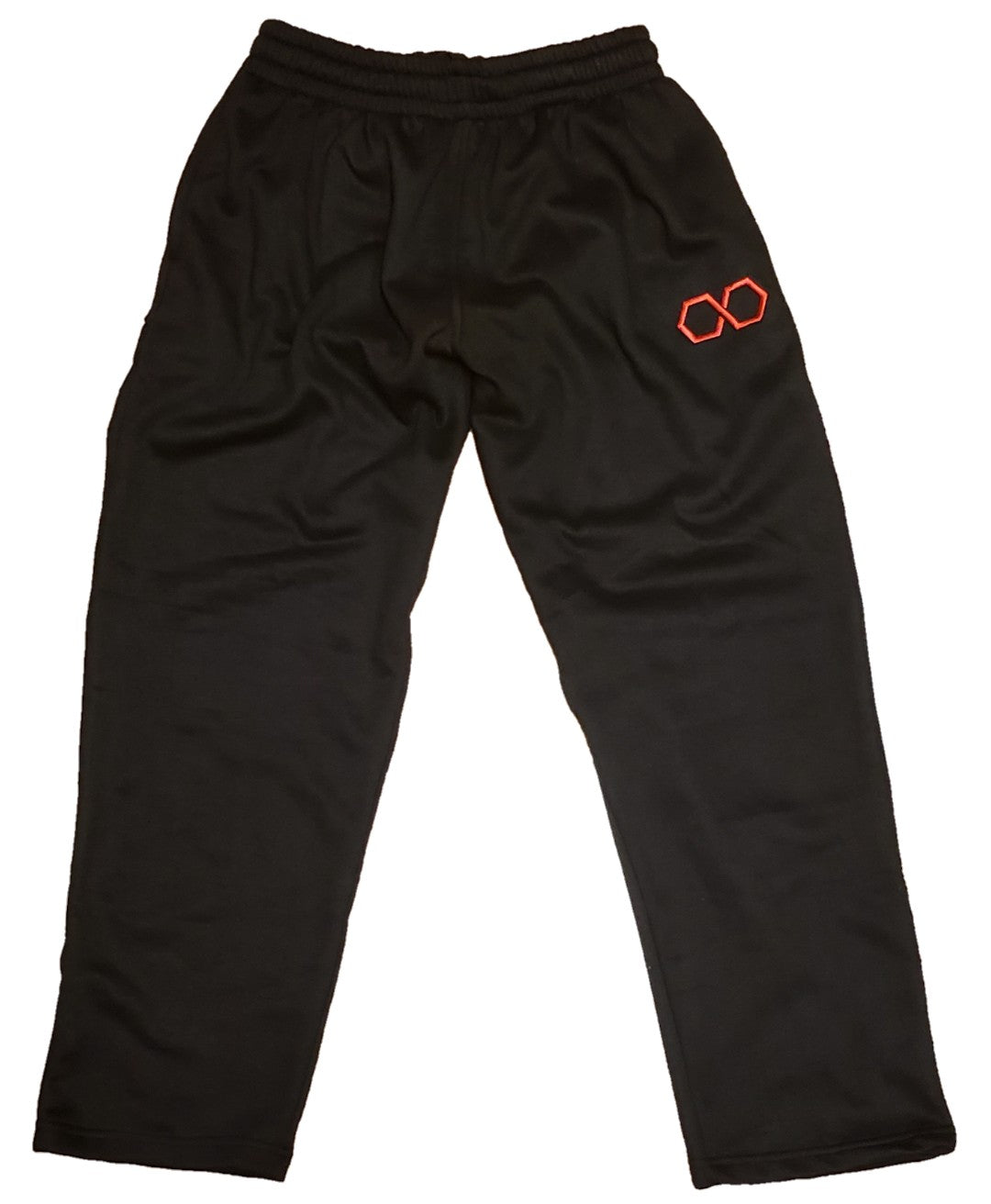 Infinite Elgintensity black sweatpants (flat)
