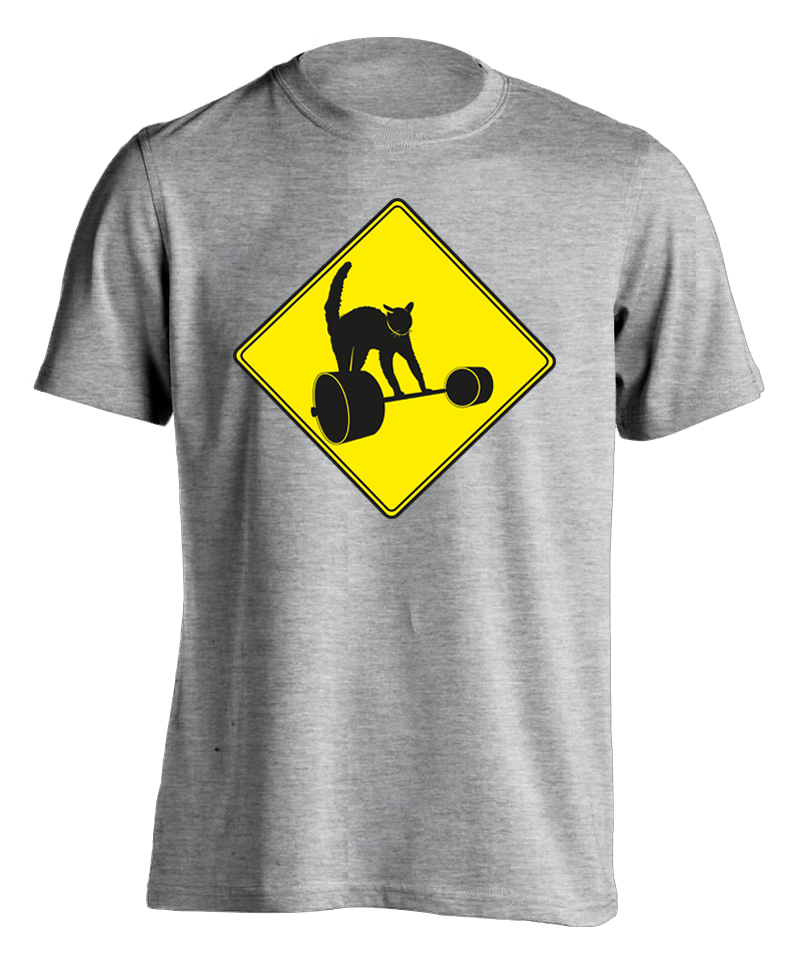"sport grey ""Dangerous Curves"" T-shirt"