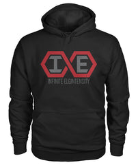 black Infinite Elgintensity pullover hoodie