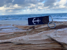 Load image into Gallery viewer, Anchor Needlepoint Key Fob