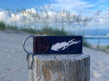 Load image into Gallery viewer, Long Island Needlepoint Key Fob