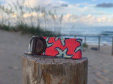 Load image into Gallery viewer, Star Fish Needlepoint Key Fob