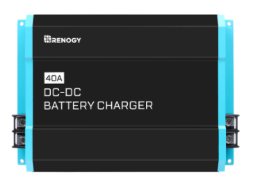 Renogy - 12V DC TO DC ON-BOARD BATTERY CHARGER, 40 amp