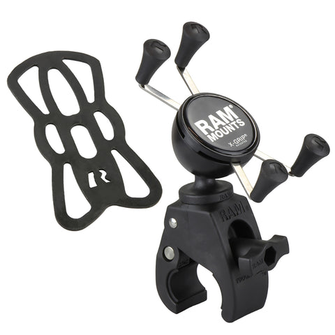 RAM® X-Grip® Phone Mount with RAM® Snap-Link™ Tough-Claw™