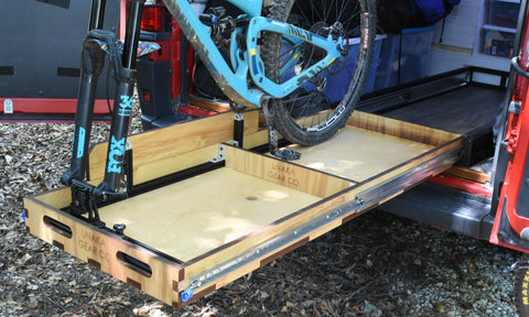 Unaka Heavy Duty Slide Out Gear Tray with Modular Rails