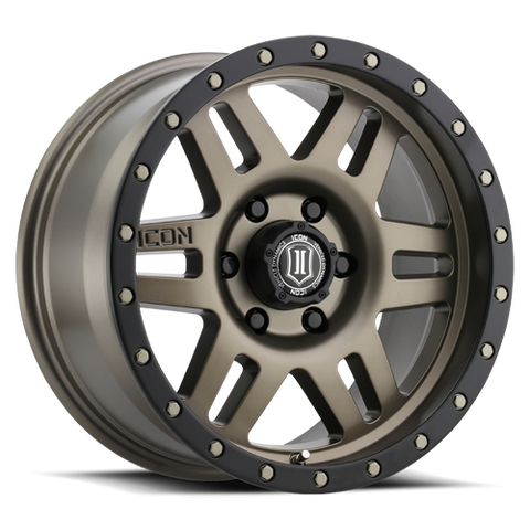 ICON Six Speed - Bronze- 17""