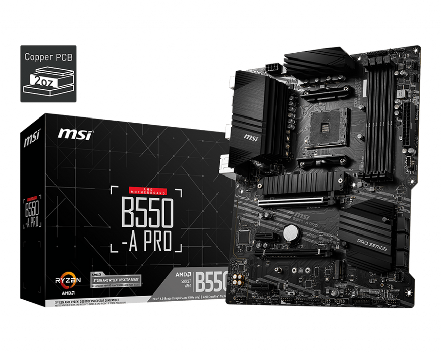 B550-A PRO - MSI Online Store