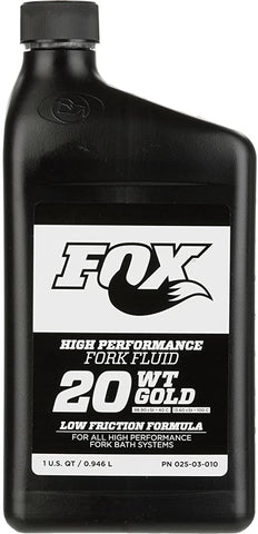 Fox Gold Olie 20WT 1 Liter