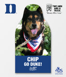 Duke Blue Devils Pet Cutout - Movers for Mutts