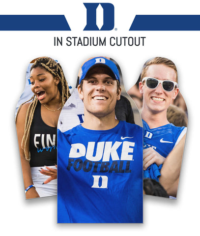 Duke Blue Devils Cutout - In Stadium Only