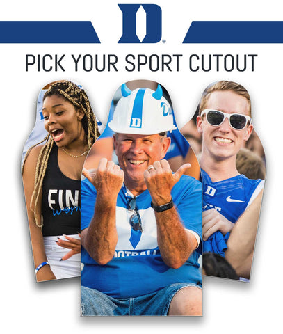 Duke Blue Devils Cutout - Pick Your Sport