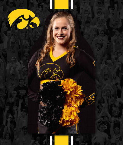 Iowa Hawkeyes FanCutout