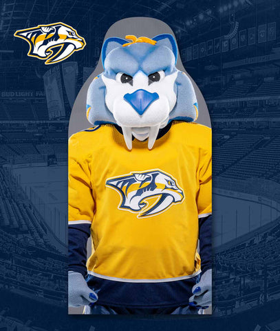 Nashville Predators Fan Cutouts