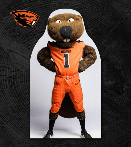 Beavers Football FanCutout