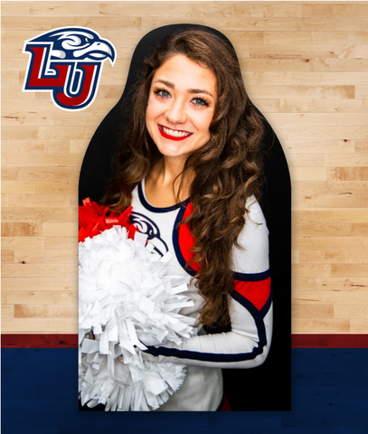 Liberty Flames Fan Cutouts