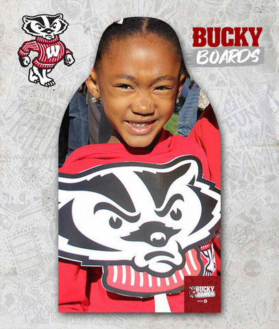Wisconsin - Team Family Bucky Boards