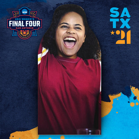 Free NCAA Women's Student Final Four Fan Cutouts