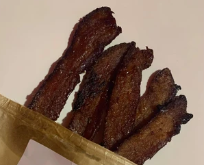 Thick Honey Bacon Jerky
