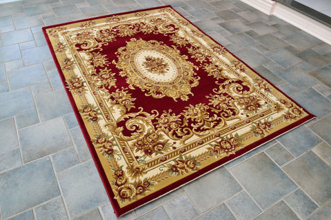 Picture of Persian Style Red Rug AM-15R