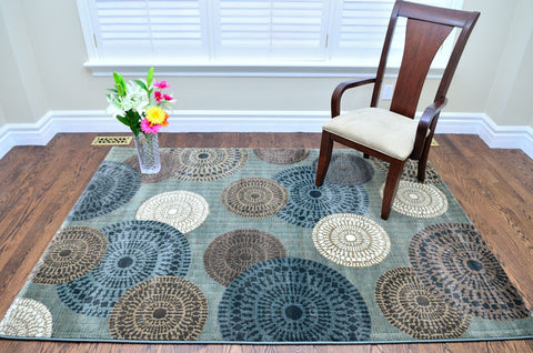 Picture of Cozumel Circle Design Area Rug
