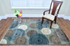 Cozumel Circle Design Area Rug