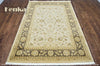 Chobi Brown Wool Area Rug