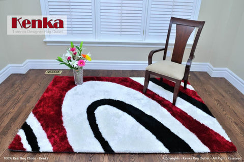 Picture of Colo Red Shag Rug