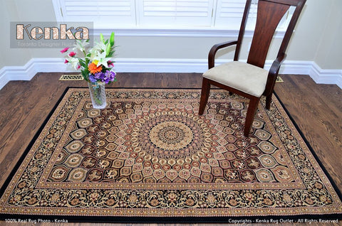 Picture of Royal Istanbul Persian Black Brown Rug