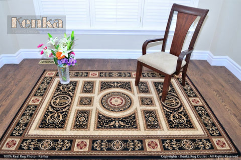 Picture of Royal Istanbul Black Area Rug