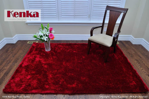 Picture of Red Super Shag Rug