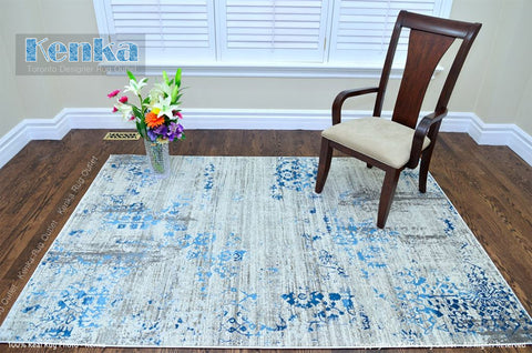 Picture of Antika Cream Blue Area Rug