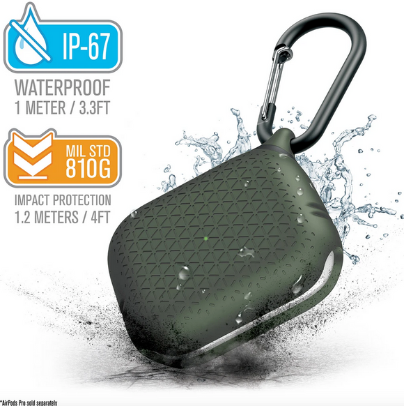 Waterproof Case for AirPods Pro - Army Green