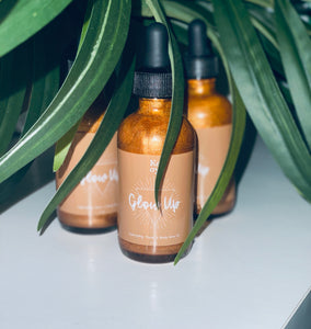 "Glow Up Face & Body Glow Oil in ""Goddess"""