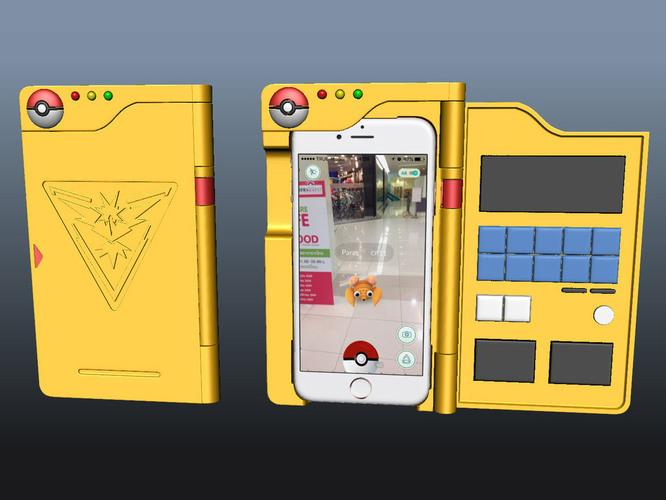 3D design Pokemon Go Teams iPhone coque