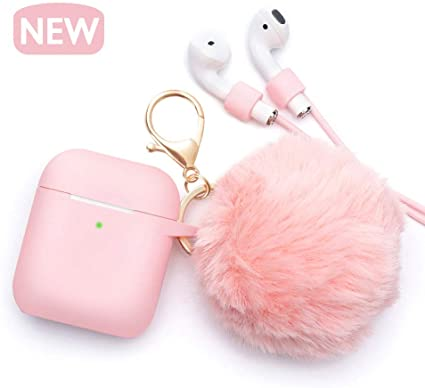 Ball Cool Apple AirPods coque Keychain