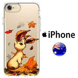 CUTE SILICONE coque coque Pokemon Art